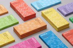 An artisan chocolate maker selling amazing chocolate with an unique package. Mita Chobolate is a team of artisan chocolate makers running by a husband and wife, and based in Bogota, Colombia. Their amazing bean-to-bar chocolate is made from beans from Venezuela, Peru, Ecuador and Colombia. Moniker was involved in visual identity and packaging with a colour-coded pattern system that can scale to future products easily. Moniker is a design and branding studio in San Francisco. They believe...