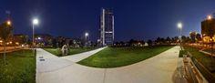 Tra poco il grattacielo di Intesa Sanpaolo a Torino, il gigante firmato da Renzo Piano sarà tenuto a battesimo dai vertici della banca e dallo stesso architetto. A partire dalle 19 saràaperto al pubblico che potra salire fino in vetta al termine di una visita guidata della durata di 40