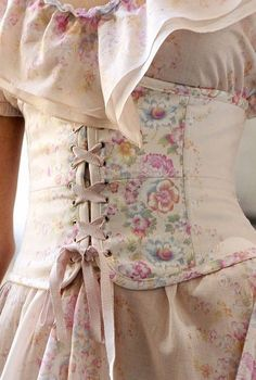 sweet feminine corset