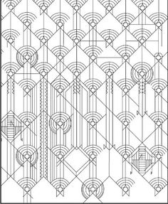 Designs by Frank Lloyd Wright Coloring Book (Frank Lloyd Wright Collection): Pomegranate: 9780764950308: Amazon.com: Books