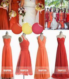 #Orange #Wedding