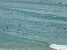 Can't wait to jump in. Beautiful Kirra beach on Australia's Gold Coast.