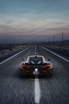 McLaren P1 Death Valley Shoot by Patrick Gosling, via Behance