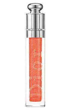 Dior Addict Ultra Gloss ~ Orange Pareo - I'm curious how this color would look on me, I really like it.