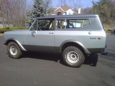 "1972 Scout from the film ""Admission"" satrting Tina Faye and Paul Rudd, due to hit theaters soon."