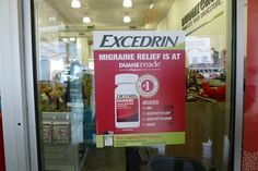 Excedrin Migraine was already back on the shelf at the nearby Duane Reade store. #DRExcedrin