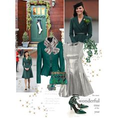 ... resemble to Kate Middleton, created by ellie366 on Polyvore
