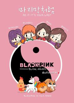 My fanart ✌ / BLACKPINK / JISOO / LISA / JENNIE / ROSÉ