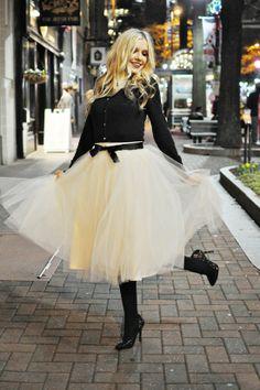 Gorgeous, I need a tule skirt!