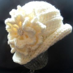 Instant download 326 1940s cloche  Hat Crochet pattern  baby girls toddler hat on Etsy, $4.18
