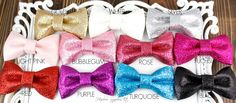 Glitter Bows 3 inch - Hairbow Supplies, Etc. - Your One Stop Shop for Hair Bow Supplies!