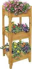 3 Tier Wooden Garden Planter