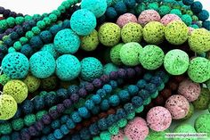 #beads Did you know that Lava Beads are currently on sale for 40% off? And did you know you can infuse the unpolished ones with essential oils? Get yours now!: http://happymangobeads.com/natural-organic/lava/ #HappyMangoBeads