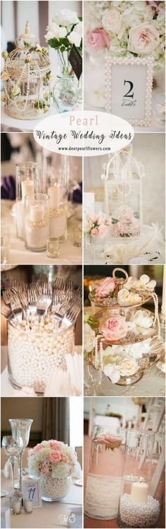 Ideas vintage wedding table decorations centre pieces bridal shower for 2019 Diy Wedding Theme, Vintage Wedding Centerpieces, Vintage Wedding Flowers, Bridal Shower Centerpieces, Vintage Wedding Theme, Diy Wedding Decorations, Wedding Table, Wedding Bouquets, Wedding Ideas