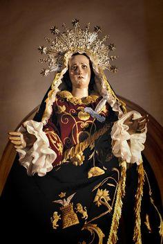 Dolorosa de Salzillo    Virgen de los Dolores, obra de Francisco Salzillo.