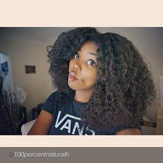 voluminous curls- goal