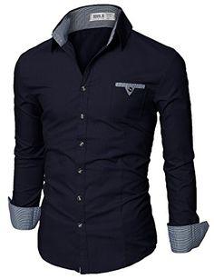 Doublju Mens Tailored Fit Button Down Collar Plaid Flannel Polo Shirt DARKNAVY,S Doublju http://www.amazon.com/dp/B00W2UEHRS/ref=cm_sw_r_pi_dp_w22Zvb0TQABSM