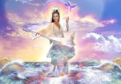 Image result for new age paintings of the Goddess Quan Yin in hd