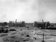 University of Rochester River Campus during construction of dormitories A & B in (University of Rochester photo) University Of Rochester, Rochester New York, Buy Photos, Rare Photos, Mount Hope, Erie Canal, School Daze, Main Street, Cemetery