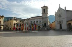 Town Square. Norcia | Umbria Italy