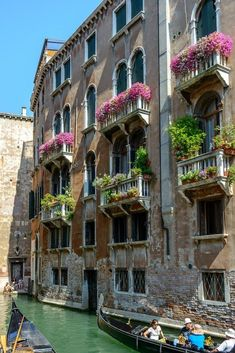 The balconies of Venice have their own fascination
