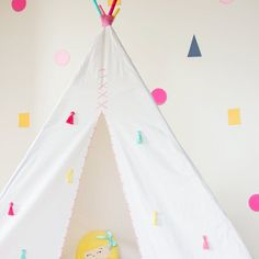 Make your own teepee using this simple guide. An easy DIY project that will bring hours of fun for the whole family!