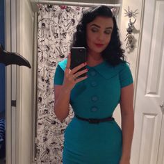 Bettie page clothing Rita dress