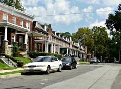 Historic Row Houses in the neighborhood of Garwyn Oaks in Northwest Baltimore!