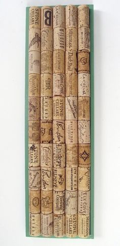 Have so many corks..collect them from friends...now I know what to do with some of them!