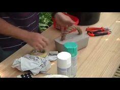 Builders DIY: Concrete Door Stop - YouTube