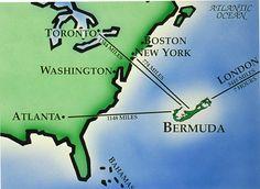 The Olderhood Blog for Retirees around the world. Bermuda is 600 miles East of Cape Hatteras, North Carolina, U.S.