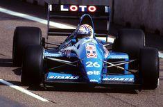 Philippe Alliot - 1990 - US Grand Prix - Ligier Gitanes - JS33B