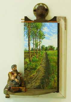wood assemblage  Tim Timmerman