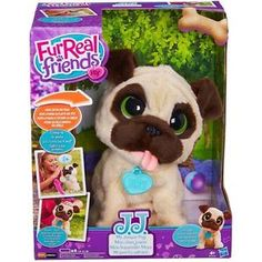 12824d1f286 FurReal Friends JJ My Jumping Pug Pet Toy - B0449 for sale online