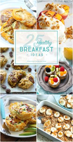 The most important meal of the day should be filled with healthy options. Check out some of our favorite simple and unique healthy breakfast ideas to help you kickstart your day!