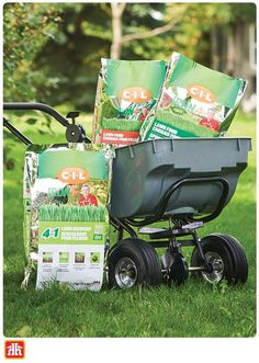 Looking to create a lush full lawn? Using a fertilizer spreader allows you to easily apply fertilizer in a uniform manner across your yard. Gardening Tools, Home Hardware, Manners, Lush, Baby Strollers, Seeds, How To Apply, Yard, Create