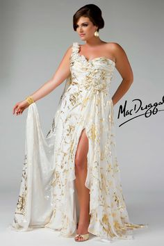 3d9034c06cb Fabulouss by Mac Duggal Plus Size Prom Dress Style available in Ivory