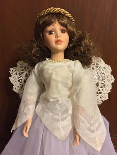 Christmas Angel - Did you hear the bell? She got her wings! by StarbourneHouse on Etsy