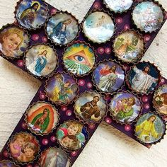 mexican crosses | Mexican Icon Cross I really love this.