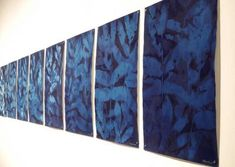 The Nature of Blue Cyanotypes Sun Prints, Alternative Photography, Cyanotype, Ceramic Artists, Art Object, Hanging Art, Art Inspo, Fiber Art, Printmaking