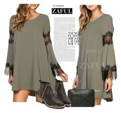 """""""zaful"""" by elly-852 ❤ liked on Polyvore featuring Sandqvist"""