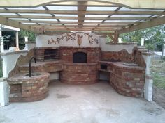 Pec-maniak updated their cover photo. Simple Outdoor Kitchen, Cover Photos, Pergola, Projects To Try, Home And Garden, Outdoor Structures, Home Decor, Type 1, Gardening