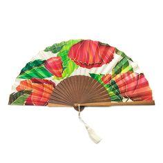 Abanico de Seda pintado a mano rojo de amapolas Painted Fan, Hand Fan, Cool Stuff, Painting, Flower, Paper, Painted Silk, Shades Of Green, Red Poppies