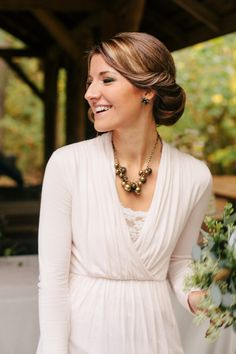 Lady Mary would be proud. #hairstyles #updos Photography: Angela Shae - angelashae.com  View entire slideshow: 15 Updos That Wow on http://www.stylemepretty.com/collection/323/