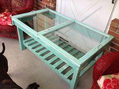 pinterest tables from windows | Window table | Window tables | Pinterest