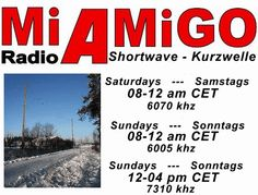 Dear Shortwave listeners, hope, you had a good start into the new year. We will have a lot of new things for you, and will answer some questions, who came in. About our program: We will be there fo...