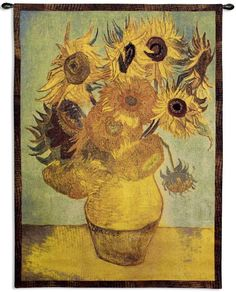 Sunflowers Tapestry - Tapestries - Wall Decor - Home Decor | HomeDecorators.com