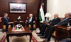 Palestinian President meets Japan's Envoy for Middle…