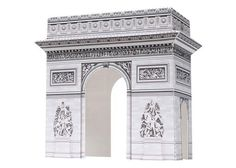 Arc de Triomphe paper model ver 2 - France designed by Canon