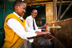 CLEAN WATER: New Dawn High School, Kenya - #mochaclubexp